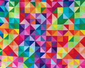 Custom Quilt Order for Nicole, Postcard From Sweden, Ombre Fabrics, Lap Size, HST Quilt, Custom Quilt, Busy Hands Quilts