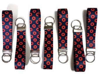 Phish Keyfob, Fishman Keyfob, Phish Gift, Phish, Fishman Donut, Phish Stocking Stuffer, Hippie Gift, Phish Key Chain, Key Chain