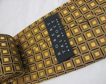 Robert Talbott Best of Class - Mens Gold Copper Silk Neck Tie