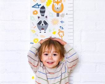 Woodland Animal Growth Chart