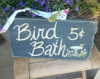Garden Decor,rustic Wood Sign,handpainted Sign,cottage Decor,rustic Home  Decor