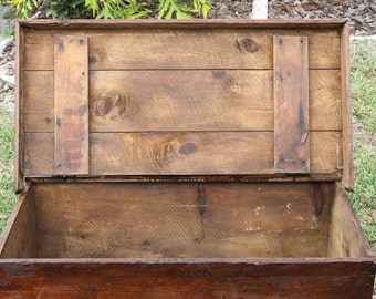 1800s Wood Trunk