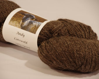 Andy 100% Cotswold sport weight Yarn from a PA Century Farm