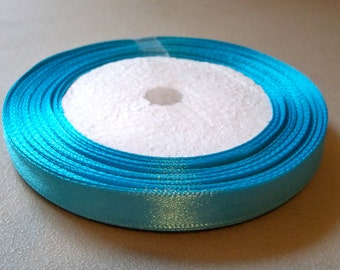 "Sky Blue Satin Ribbon-3/8""-10mm-#R006"