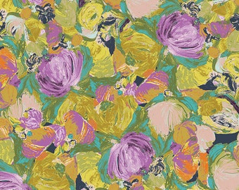 Art Gallery Fabrics - Cactus Flora Lily - Sage - Bari J. - By The Yard