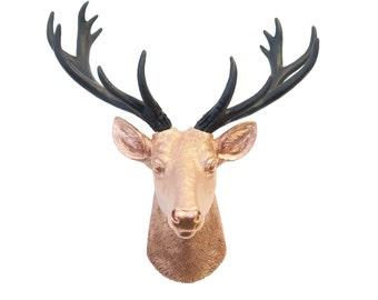Deer head wall mount | Etsy