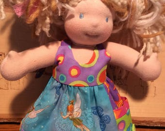 Fairies, pocket, 10 inch Waldorf doll clothes, Little Buddy, Bamboletta, lb
