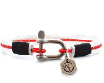 Men's Bracelet SALTI Nautical Bracelet '3rd Wave' FREE Worldwide Shipping canada flag