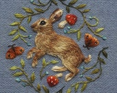 Baby Rabbit 2 Greetings Card