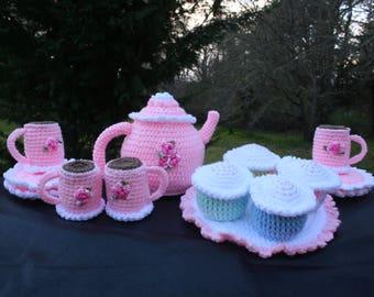 Pretty n Pink tea Set. Taking Orders!