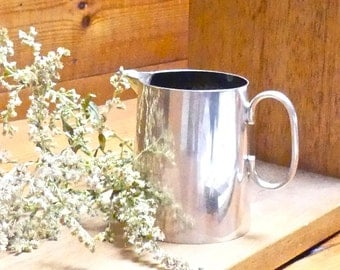 Vintage Mid Century EPNS 1950's English Silverware Milk/Cream Jug