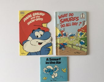Vintage The Smurfs Books