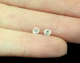 Diamond Matched Pair, 3mm  - .29 carats