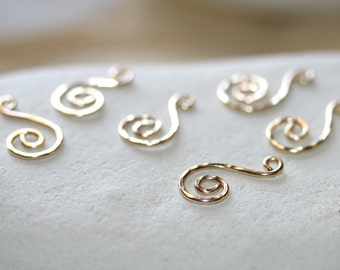Earring Drops in 14 K Gold Filled Drops | Earring Components Dangles | 1 Pair