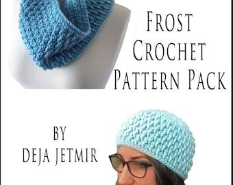 Crochet Pattern-- Frost Crochet Pattern Pack --Crochet Pattern