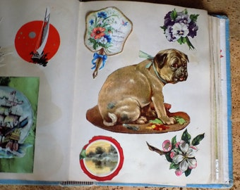 Victorian Scrap Book Album/ Womens Gift