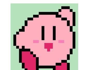 Kirby Quilt Happy Puffball Pattern