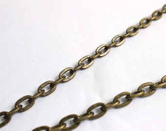 Antique brass purse chain, antique brass handbag chain, clutch bag chain, bag strap, UK bag making supplies,