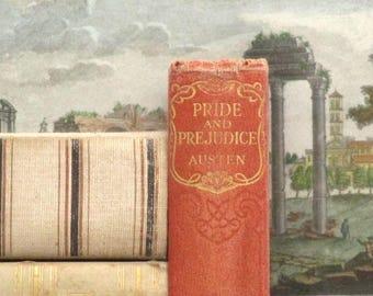 WORN Pride and Prejudice vintage book by Jane Austen