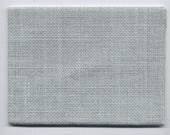 "LINEN (?) 18-Count PALE SAGE Green Even-Weave Counted Cross-Stitch Fabric 12"" X 11"""