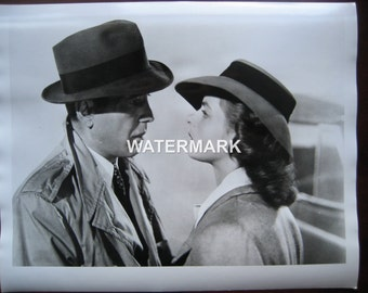 Humphrey Bogart & Ingrid Bergman Photo From Casablanca 16 X 20 Inches