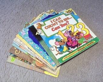 10 Please Read To Me Children's Books - 1970's - 1990's