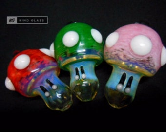 Power Mushroom Pipes, Pendant Pipes, Glass Pipes, Unique Pipes, Girly Pipes, Cool Pipes, Tobacco Pipes, Smoking Pipes, Mushroom Pipes