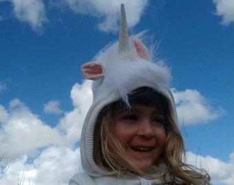 Unicorn Costume/ Little Pony costume/ White Unicorn/ Toddlers Gift/Toddler Costume/ Kids Costume/ Halloween Costume/ Dress Up/ Play Clothes