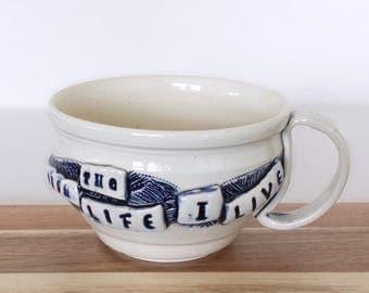May God's Character Shine Through The Life I Live Cup / Mug -EXPRESSives