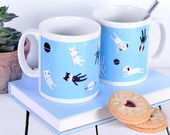 Cat Lover Gift - Cute Mug - Gift For Cat Lovers - Stocking Filler Secret Santa