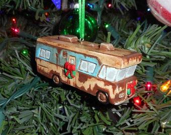 New Christmas Vacation COUSIN EDDIE'S RV Ornament Handmade Condor
