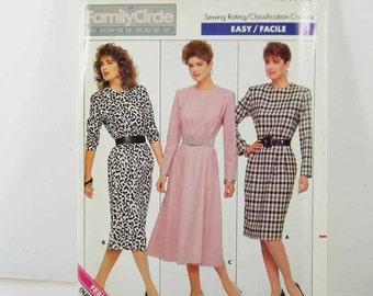 Vintage Pattern Butterick 5756 Uncut Size 12-14-16