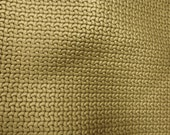 "PERFORATED Leather 12""x12"" GOLD Basket Weave Cowhide 2.25-2.5 oz / 0.9-1 mm PeggySueAlso™ limited"
