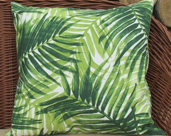 Greenery Outdoor Pillow Covers Set of 2, 18 inch