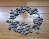 100 hand Sorted beach Pebbles Lake Michigan Stone Craft Mosaic Rock Supplies