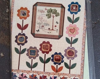 WHIMSICALS PATTERN: Simply Imagine - quilt pattern from 2012