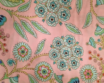 1 yard Cotton Quilting Fabric: Leanika by Dena Designs