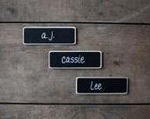 "Custom Name Tags for Jenny 15 each 2.5"" x 8"" tags NO BACKING"