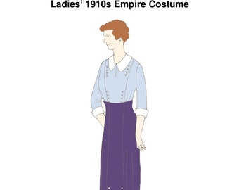 RH1050 — Ladies' 1910s Empire Costume