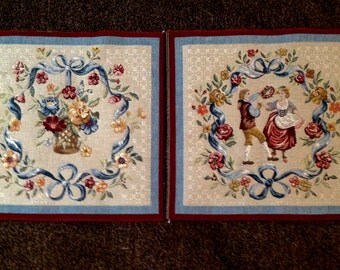 French Tapestry Squares