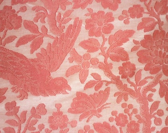 "Antique Cotton Net Lace Fabric Yardage 49"" wide 240"" long..PERFECT..Bed Curtains..FRENCH Toile"