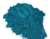 Viper Turquoise Blue  Mineral Makeup Eye Shadow 5g Sifter Jar Eyeshadow Natural Mica Vegan Irridescent