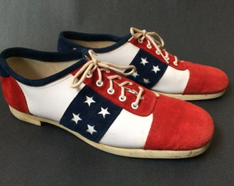 Vintage All American Bowling Shoes