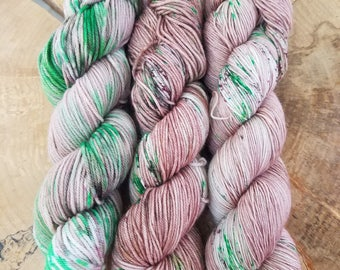 Hand Dyed Yarn - Mother's Day Violets Oopsie