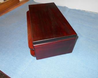 jewelry box w/2 drawers