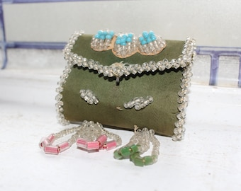 Antique Beaded Whimsy Pin Cushion