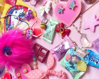 MEDIUM-Grab Bag Lucky Bag Mystery Box Kawaii Accessories