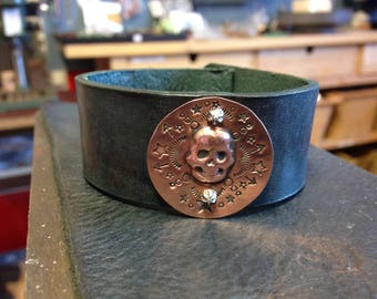 STUDIO CLASS** 3D Metal & Leather Cuffs