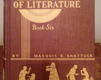 Beacon Lights of Literature Book Six Marquis E. Shattuck