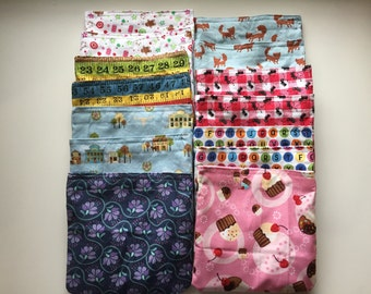 Reusable Snack and Sandwich Bags  // In Stock, READY TO SHIP